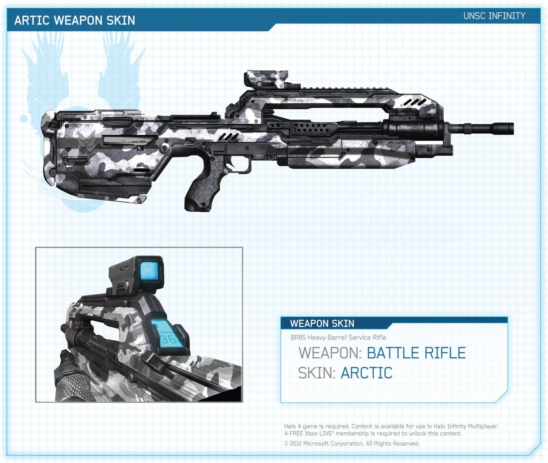 Halo 4 Weapon Skins