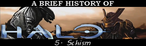 """A Brief History of Halo: Schism"", Halo story"
