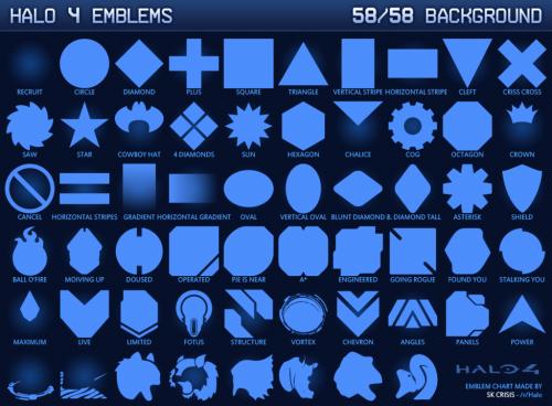 halo 4 vector emblem pack halo diehards