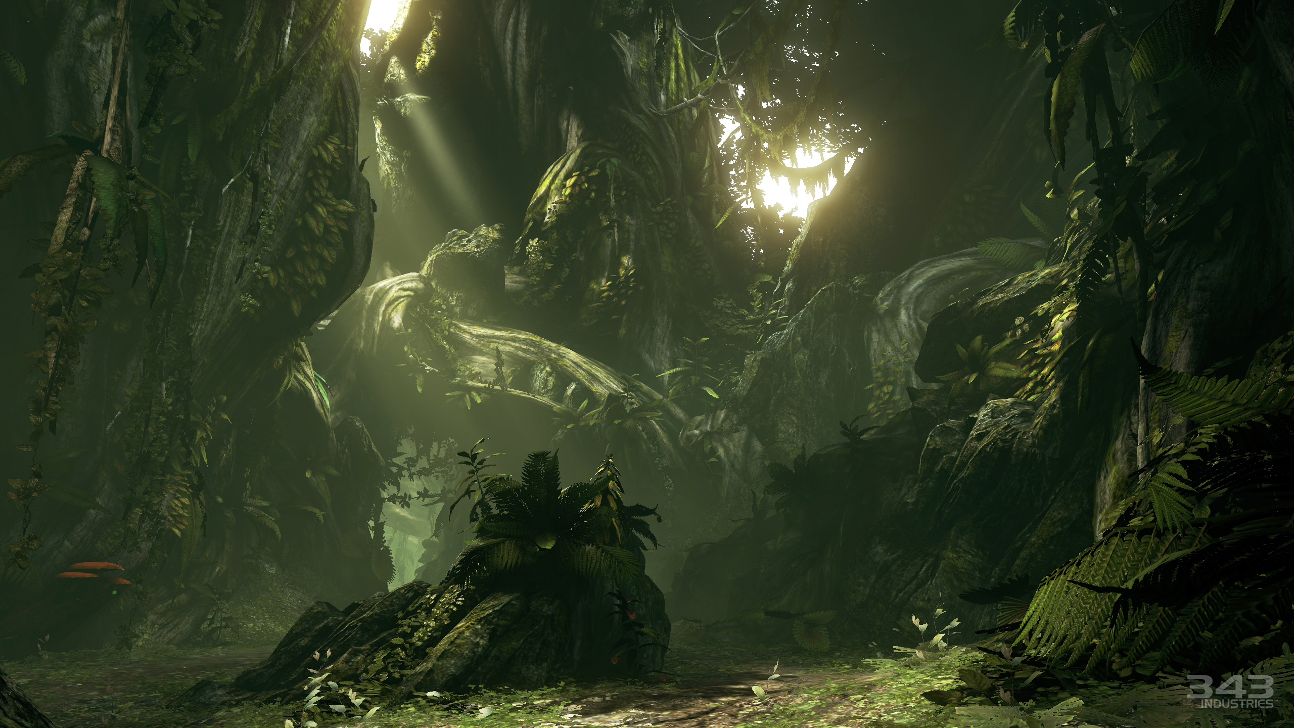 Halo 4 Campaign, clean capture screenshot