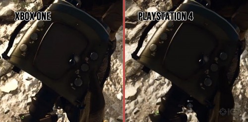 Screenshot of IGN's comparison video at 1080p, click to view larger