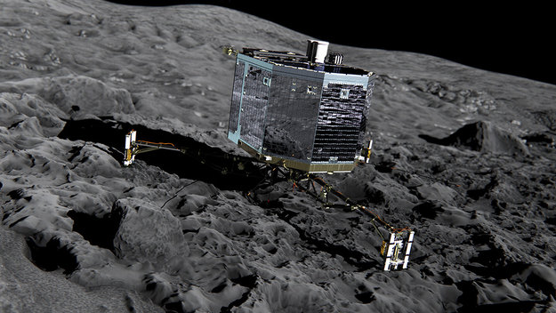 Rosetta Lander, Philae (depiction). Image: ESA