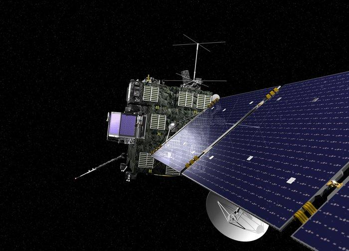 Rosetta depiction. Image: ESA