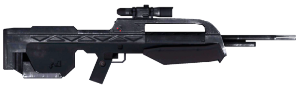 BR 55HB Battle Rifle UNSC Weapon, Halo 3