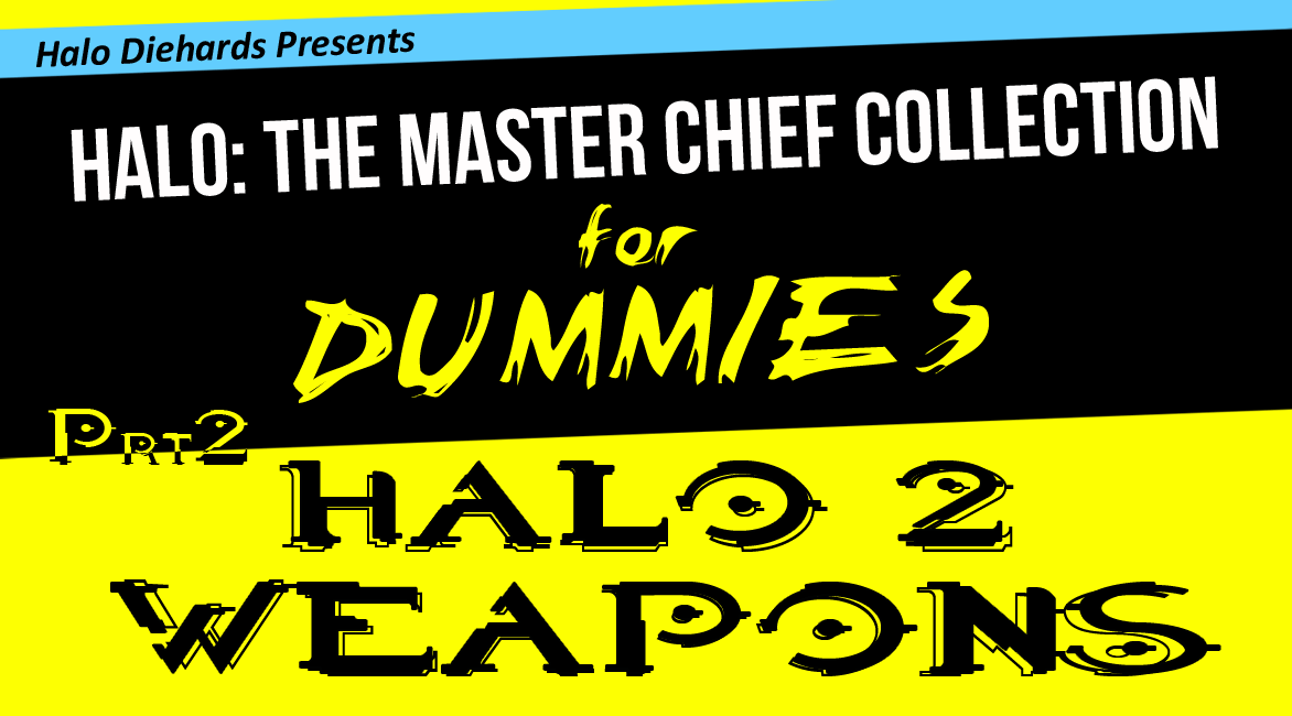 Master Chief Collection for Dummies weapon comparisons, Halo 2