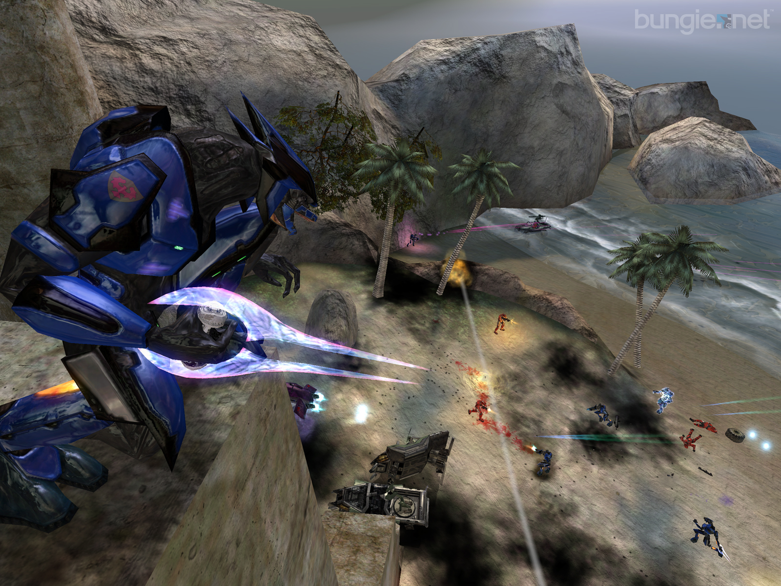 Modders have taken halo online and given it multiplayer - halo 3 multiplayer is now on pc