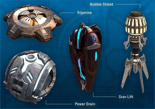 Halo 3 Equipment
