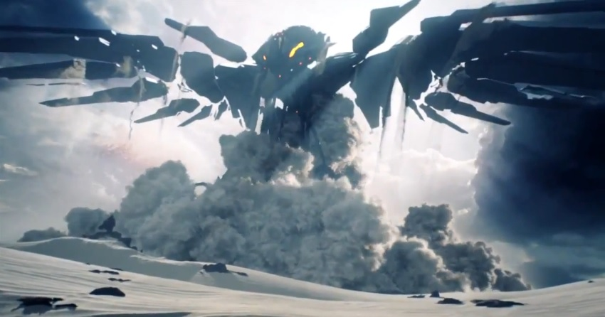 Screenshot from Halo 5 teaser trailer