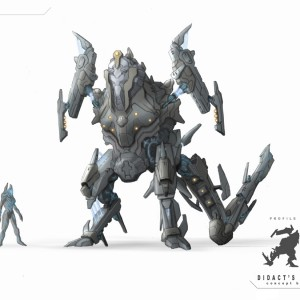 War Sphinx concept fan art by Levi aka Leviathan