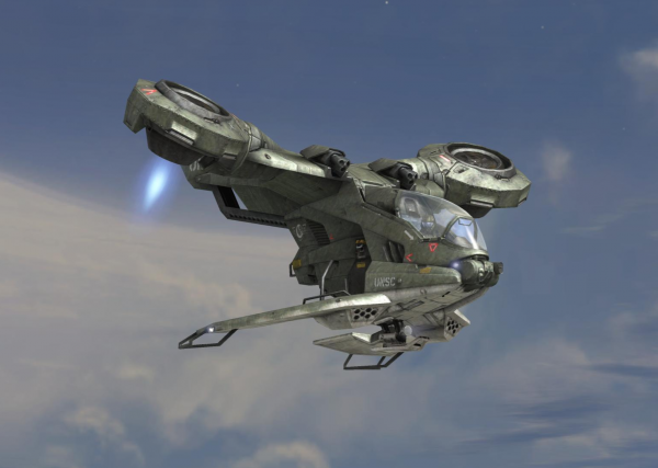 Hornet as seen in the level The Covenant in Halo 3