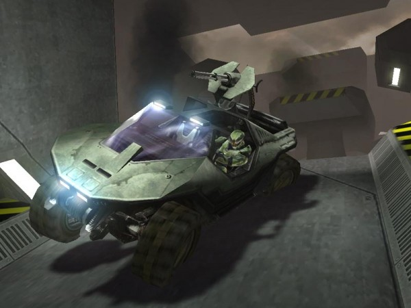 Warthog as seen in Halo: CE